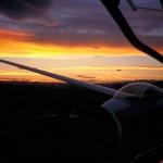 Glider Sunset